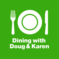 Podcast cover art for Dining with Doug and Karen