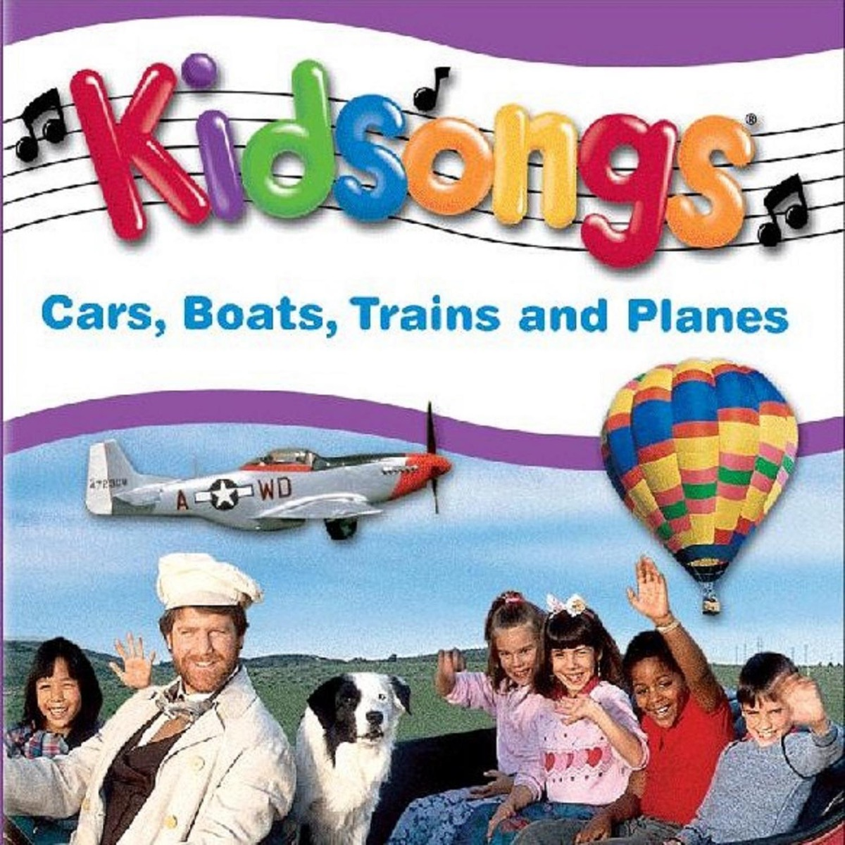 Kidsongs: Cars, Boats, Trains and Planes Album Cover by Kidsongs