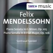 Sontraud Speidel - Piano Sonata No. 2 in G Minor, Op. 105, MWV U30: II. Adagio