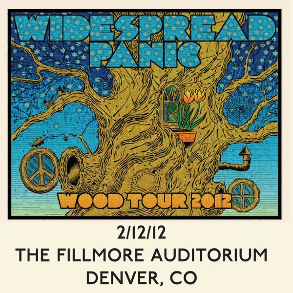 Widespread Panic - Live At the Fillmore Auditorium 2/12/12
