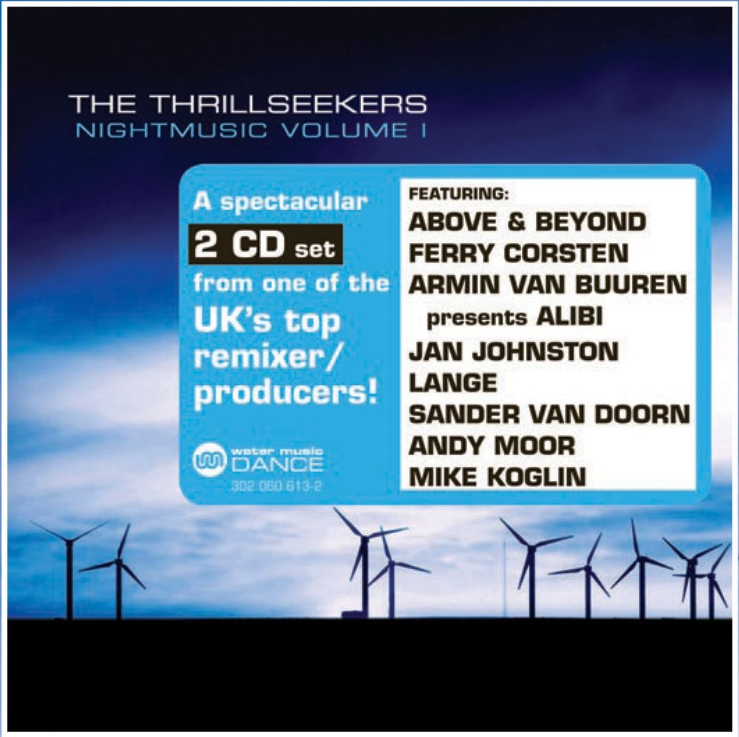 Nightmusic Volume 1 Disc One The Thrillseekers CD cover