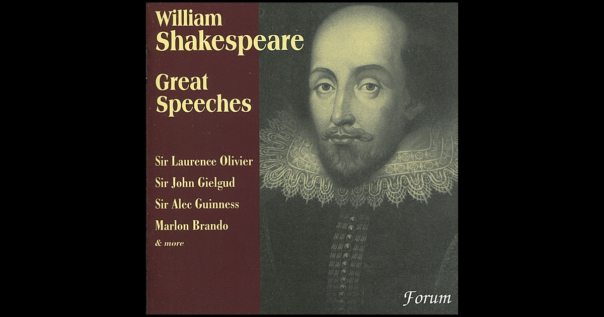 4 minute shakespearian speech Shakespeare's plays are also notable for their use of soliloquies, in which a character makes a speech to him- or  hirsh points out that shakespearian.