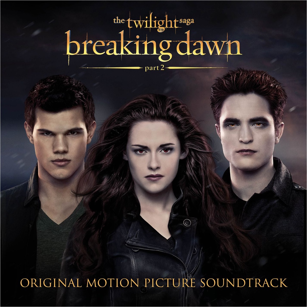 The Twilight Saga Breaking Dawn Pt 2 Original Motion Picture Soundtrack Various Artists CD cover