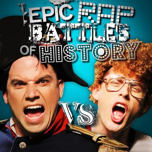 Napoleon vs Napoleon Album Cover by Epic Rap Battles of History
