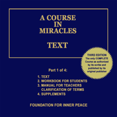 A Course in Miracles: Text, Vol. 1 (Unabridged)