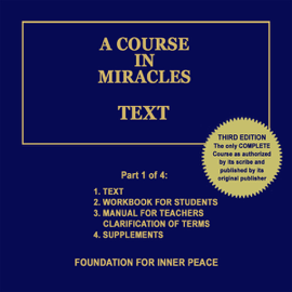 A Course in Miracles: Text, Vol. 1 (Unabridged) audiobook
