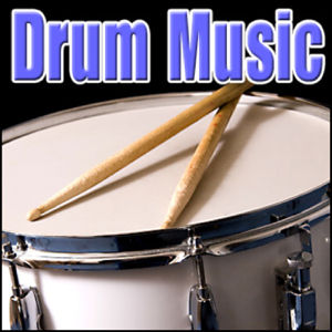 Sound Effects Library - Drums - Drum Solo, Music, Percussion Drum Music