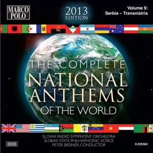 """Slovak Radio Symphony Orchestra & Peter Breiner - Taiwan: National Flag Anthem, """"Lo! The glorious…"""" (International Events) [arr. P. Breiner]"""