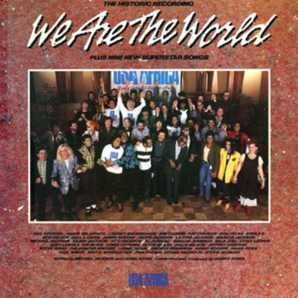 Cover art for We Are The World