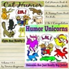 Cat Humor Book & Unicorns Are Jerks: A Funny Poem Book For Kids: 2 in 1 Compilation of Volume 1 & Volume 2 (Just Really Big Jerks Series) (Unabridged)