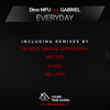 Dino MFU - Everyday (feat. Gabriel) [V-Sag Remix] artwork