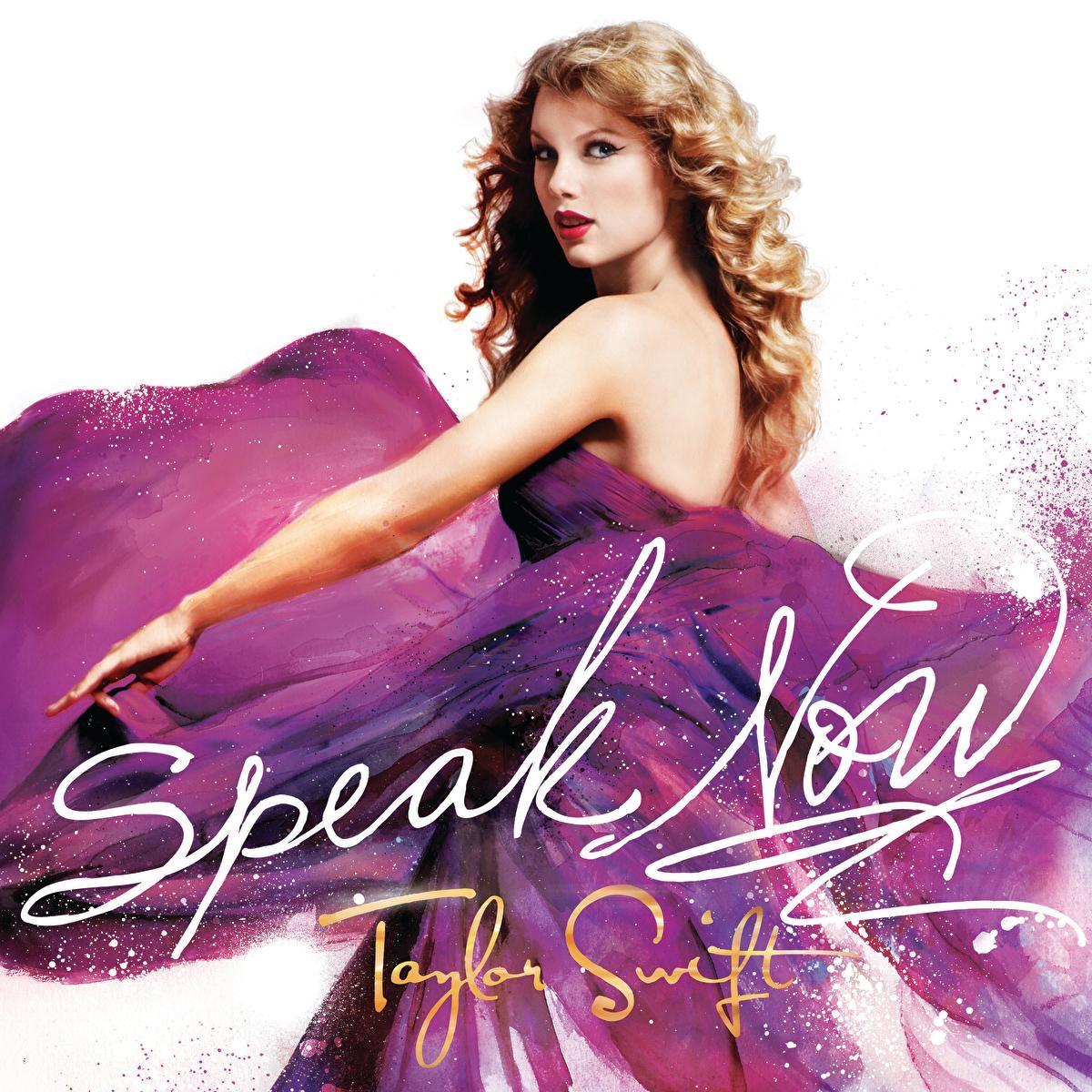 Speak Now Taylor Swift CD cover