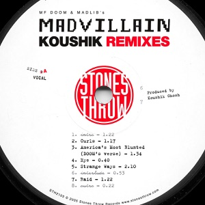 Madvillain & MF DOOM - America's Most Blunted (Doom's Verse–Koushik Remix)