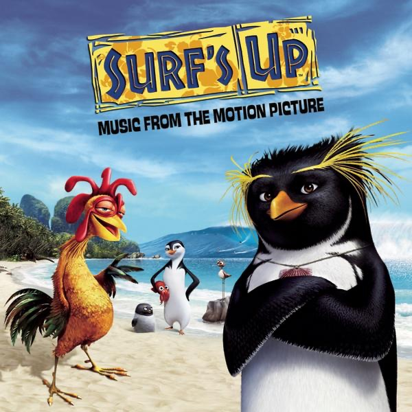 Surfs Up Music from the Motion Picture Various Artists CD cover