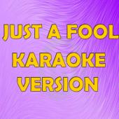 Just A Fool (In The Style Of Christina Aguilera) [Karaoke Version]-Karaoke Hits Band