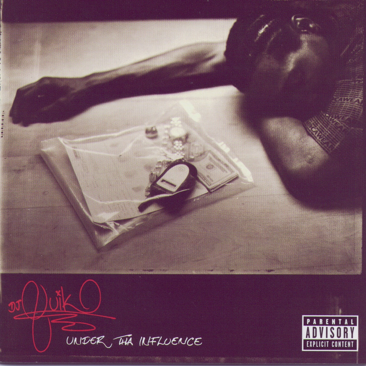 Under Tha Influence DJ Quik CD cover