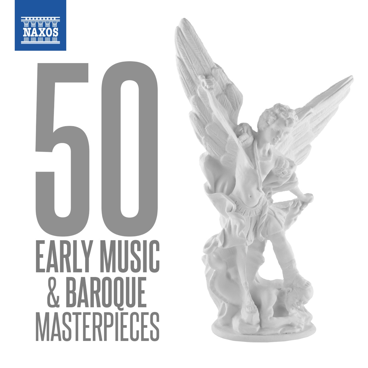 50 Early Music  Baroque Masterpieces Various Artists CD cover