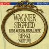 Wagner Rienzi Overture Siegfried s Rhine Journey Siegfried s Funeral Music