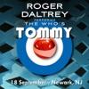 9/18/11 Live in Newark, NJ, Roger Daltrey