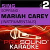 Sing Soprano - Mariah Carey Vol.2 (Karaoke Performance Tracks)