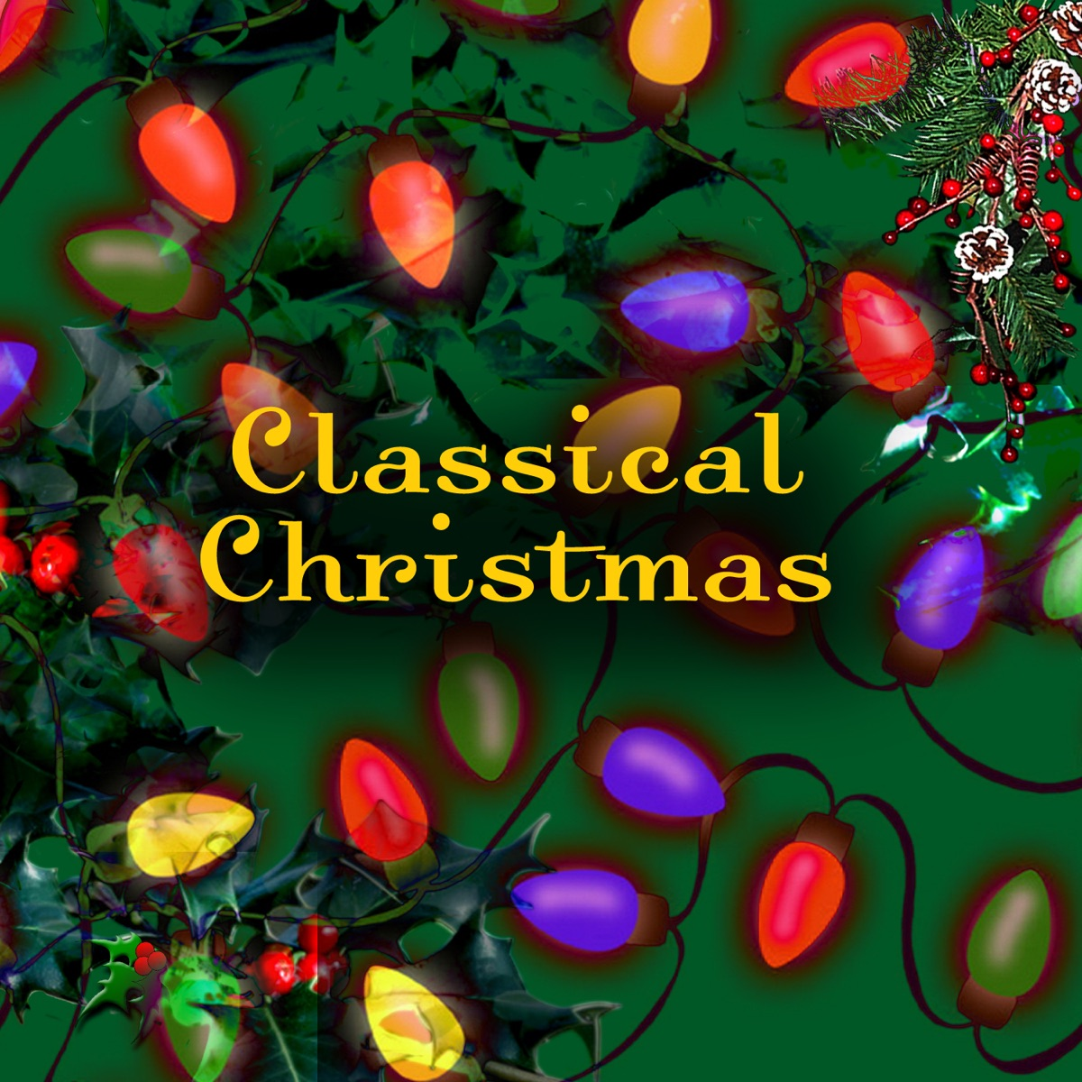 Classical Christmas Various Artists CD cover