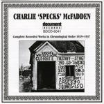 "Charlie ""Specks"" McFadden - Low Down Rounders Blues"