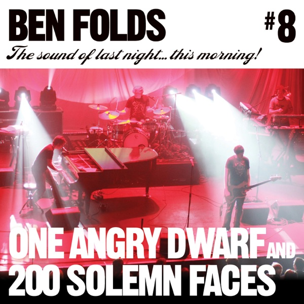 One Angry Dwarf and 200 Solemn Faces (Live At Houston, TX 10/24/08) - Single