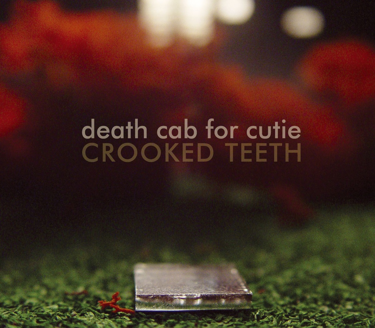 Crooked Teeth - EP Death Cab for Cutie CD cover