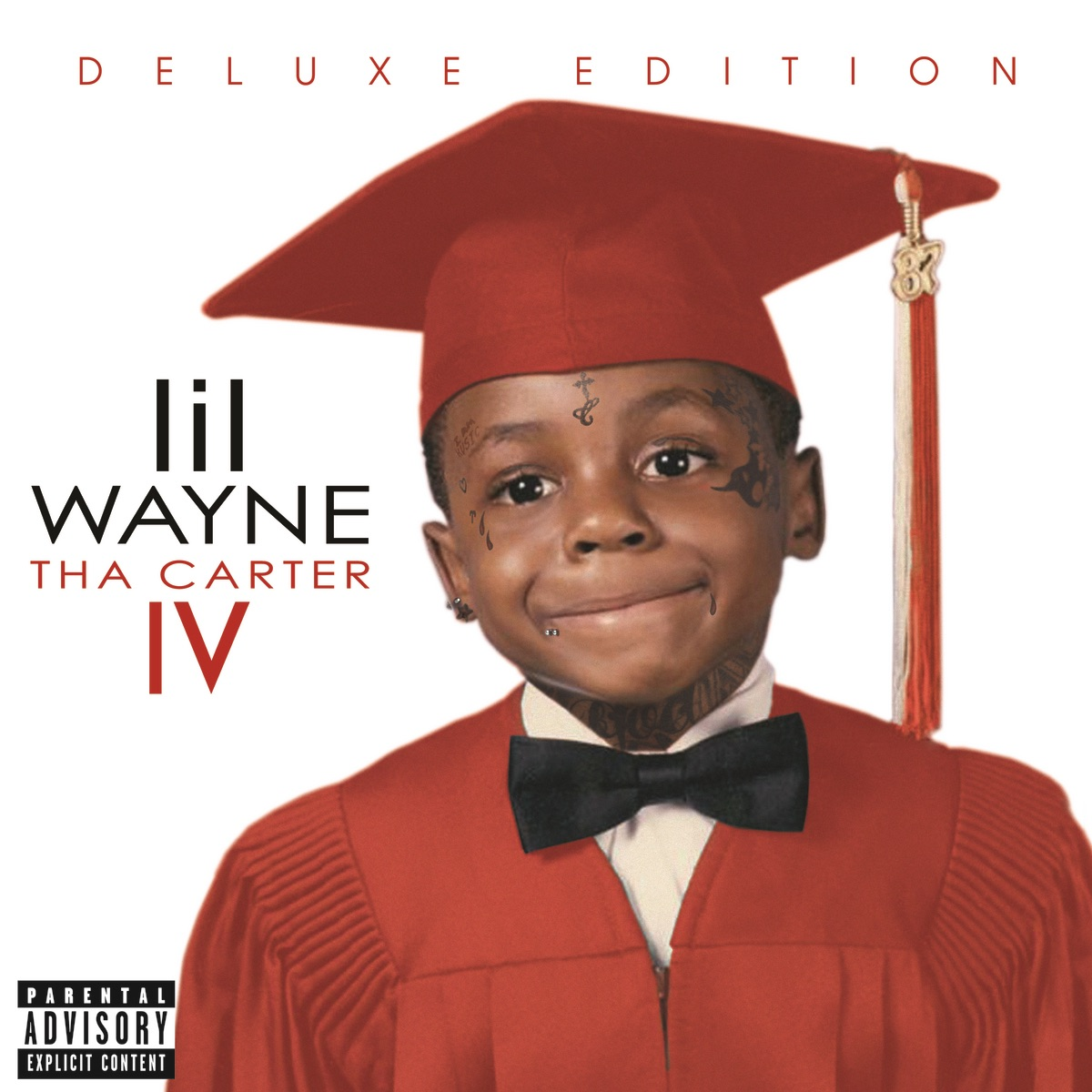 Tha Carter IV Deluxe Edition Lil Wayne CD cover