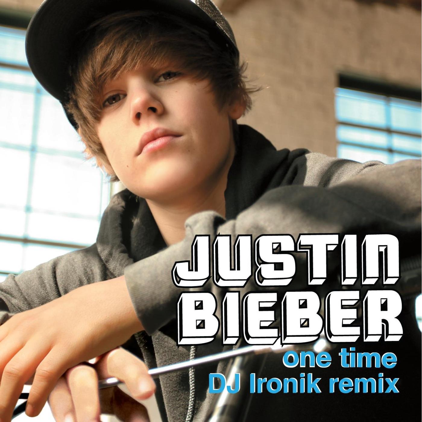 Justin Bieber - One Time (DJ Ironik Remix) - Single Cover
