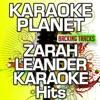 Zarah Leander Karaoke Hits (Karaoke Planet) ジャケット写真
