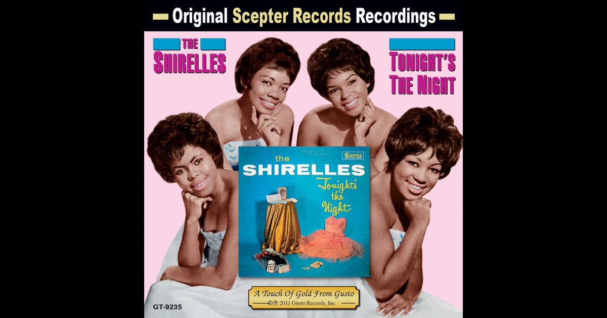 The Shirelles Tonight Youre Gonna Fall In Love With Me