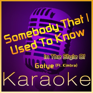High Frequency Karaoke - Somebody That I Used To Know (Instrumental Version)