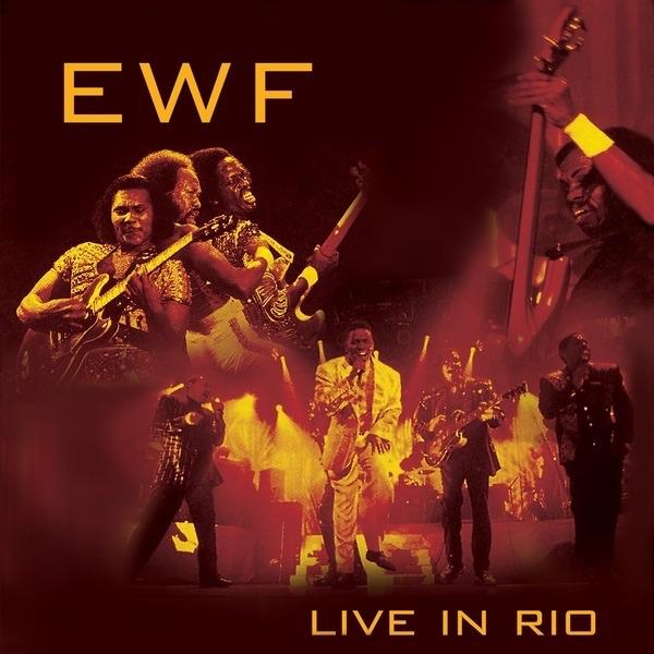 Live In Rio Album Cover by Earth, Wind & Fire