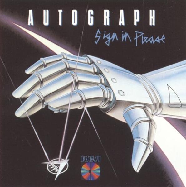 Autograph mit Turn Up the Radio