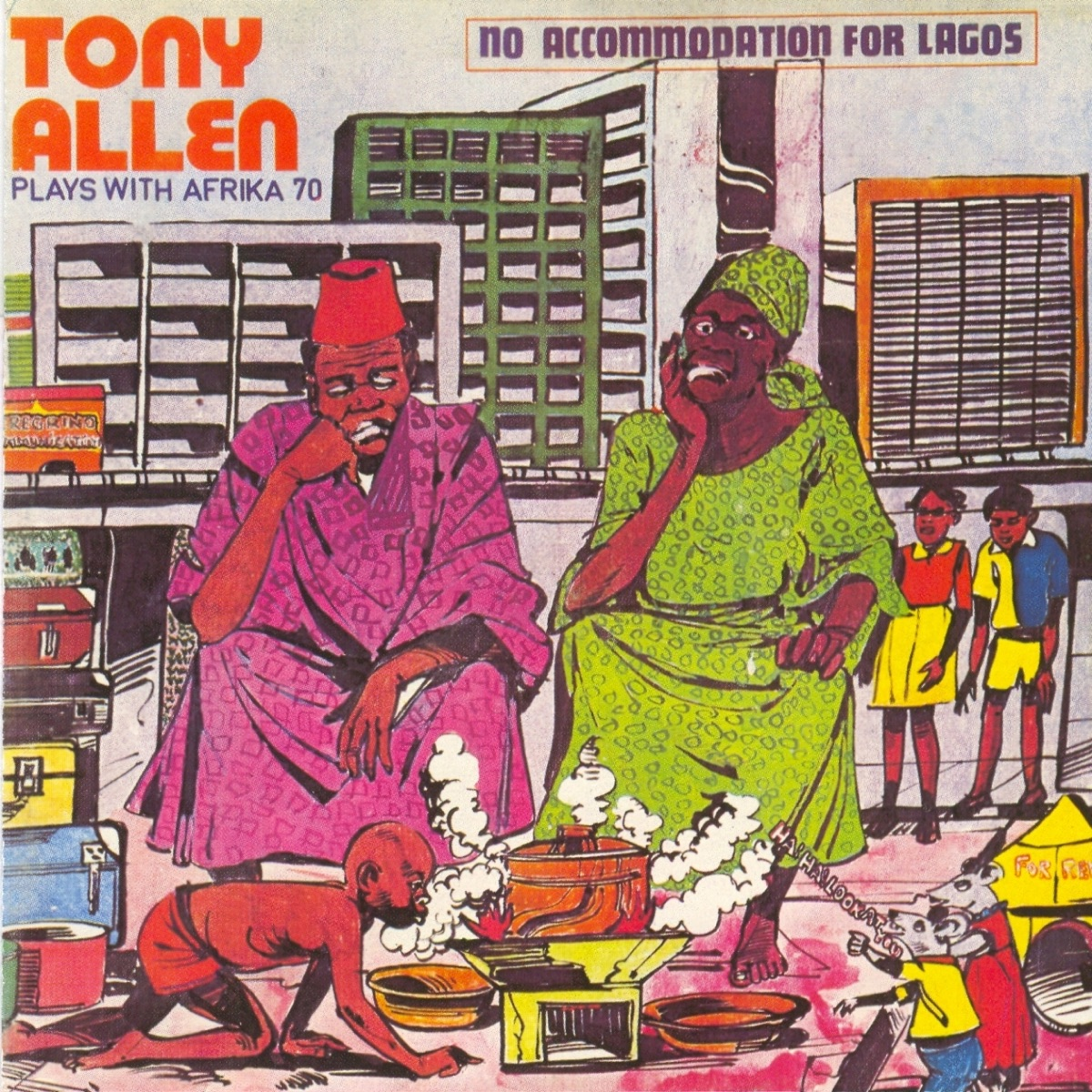 No Accommodation for Lagos - No Discrimination Album Cover by Tony ...
