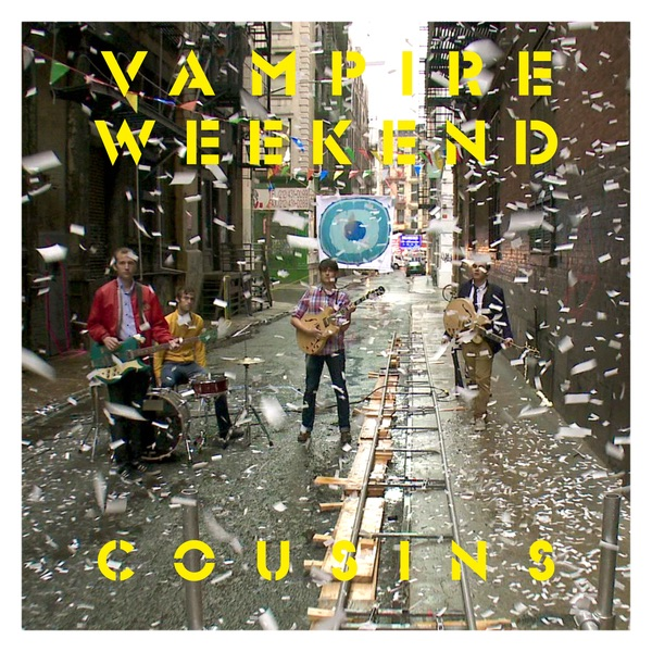 Cousins - Single Vampire Weekend CD cover