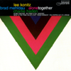 Lee Konitz, Brad Mehldau & Charlie Haden - Alone Together  artwork
