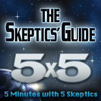 Podcast cover art for The Skeptics' Guide 5X5
