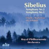 Sibelius: Symphonies Nos. 2 & 5, Royal Philharmonic Orchestra, Sir Charles Mackerras & Ole Schmidt