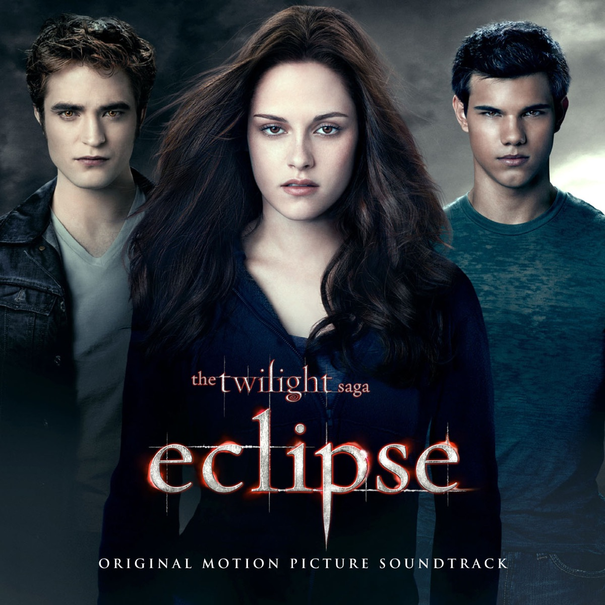 The Twilight Saga Eclipse Original Motion Picture Soundtrack Deluxe Version Various Artists CD cover