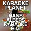 Hans Albers Karaoke Hits (Karaoke Planet) ジャケット写真