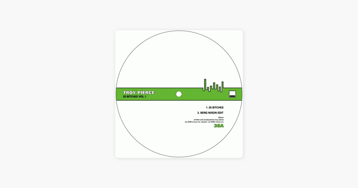 25 Bitches Vol  I - EP by Troy Pierce