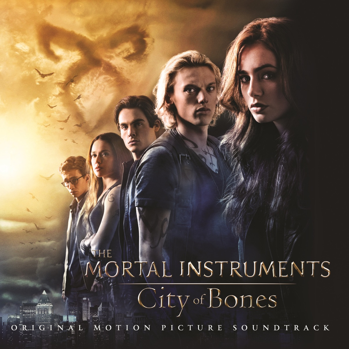 The Mortal Instruments City of Bones Original Motion Picture Soundtrack Various Artists CD cover