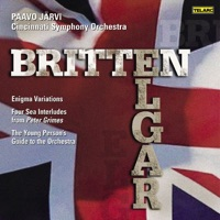 Britten: Young Person's Guide to the Orchestra, Four Sea Interludes from Peter Grimes - Elgar: