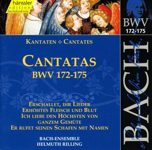 Bach, J.S.: Cantatas, Bwv 172-175