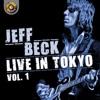 Jeff Beck Live in Tokyo 1999, Vol. 1 ジャケット写真