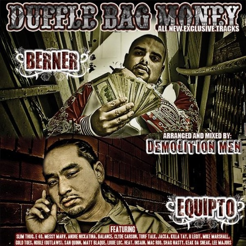 Berner & Equipto - Duffle Bag Money