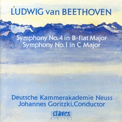 Album: Beethoven Symphonies No 4 No 1 by Deutsche