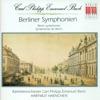 Bach, C.P.E.: Sinfonias - Wq. 174, 175, 178, 179, 181